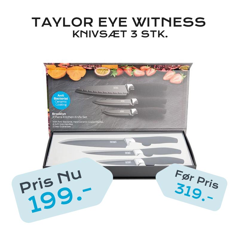 TAYLOR EYE WITNESS KNIVSÆT 3 STK.