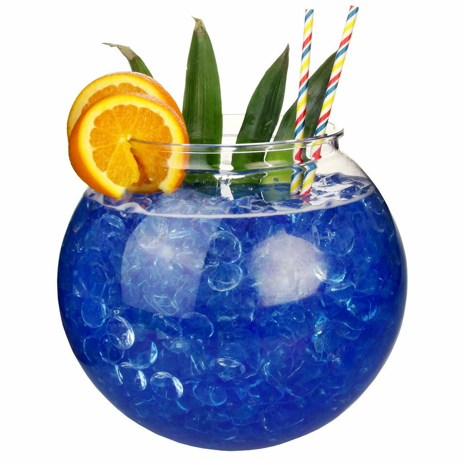 Xl Plastik Cocktail Fish Bowl 5ltr