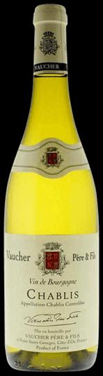 Image of   Vaucher Vin De Bourgogne Chablis 2015 0,7 liter5 Ltr