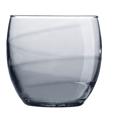 Drikkeglas - 34cl Gråt (6stk)
