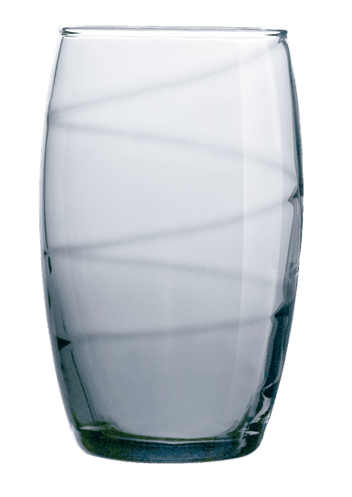 Drikkeglas - 36cl Gråt (6stk)