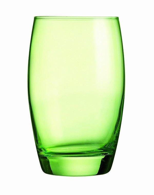 Drikkeglas Salto - Grønt, 35 Cl (6stk)