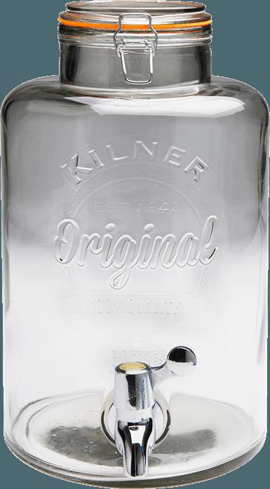 Image of   Glasbeholder Med Tappehane - 8 Ltr.