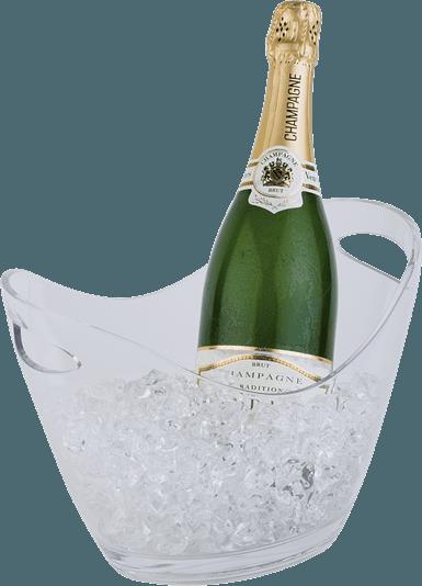 Champagnebowle, Klar H: 21 Cm.