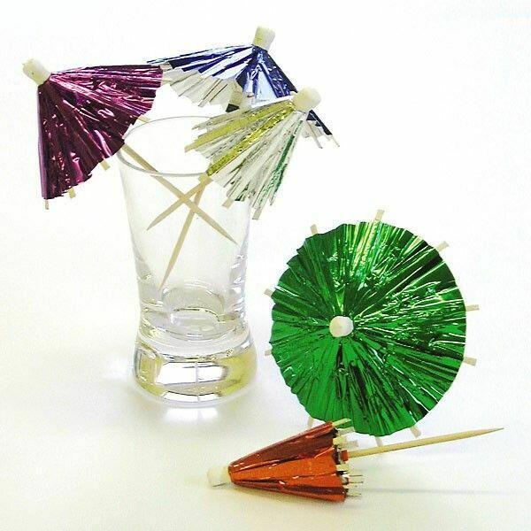 Image of   Drinks Parasol - Folie 144 Stk