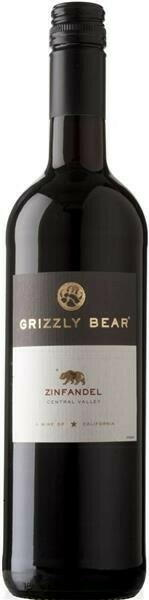 Image of   Grizzly Bear Zinfandel 0,7 liter5 Ltr
