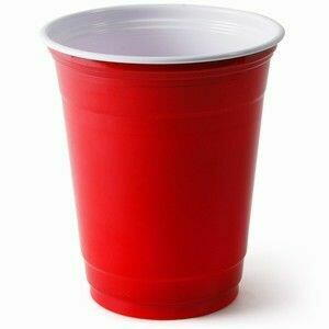 Image of   Red American Party Cups 50 Stk.
