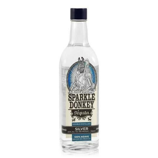 Image of   Sparkle Donkey Tequila Silver 0,7 liter5 Ltr