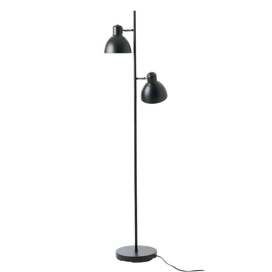 Billede af Dyberg Lar, SKAGEN2 gulvlampe i mat sort H155 D16