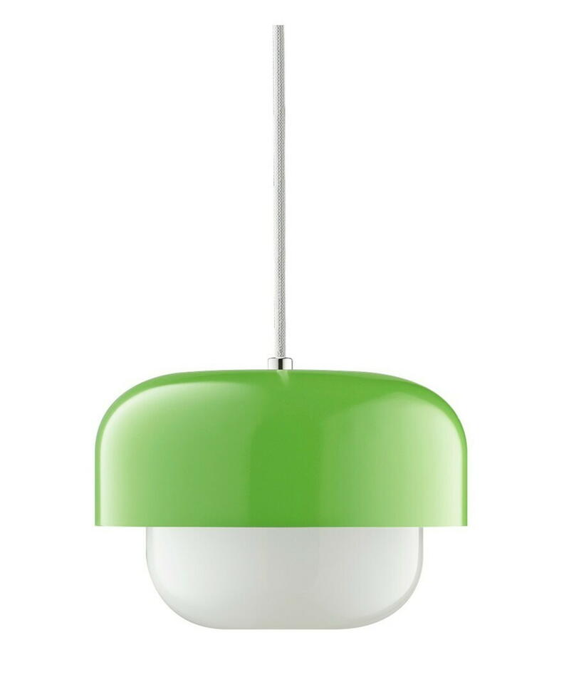 Image of   Haipot Pendel Lampe Matcha Lys Grøn H15 D23