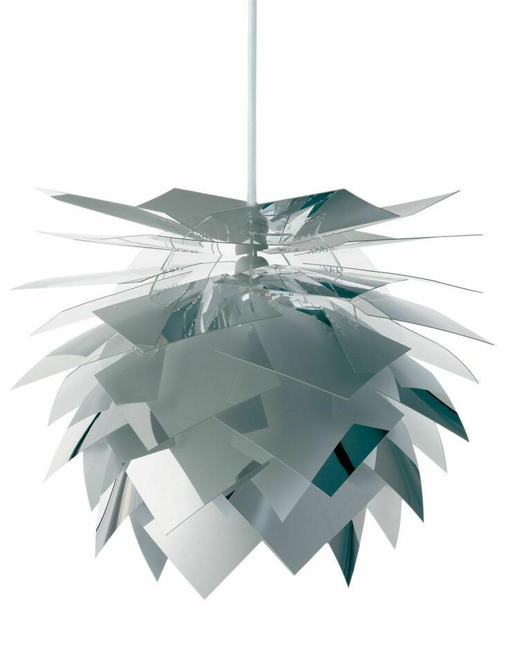 Image of   Pineapple Lampe - Pendel Medium Mirror
