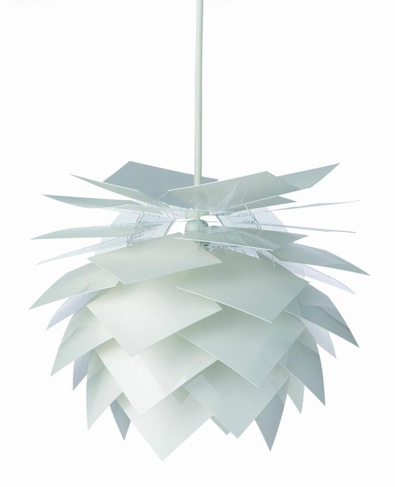 Image of   Pineapple Lampe - Pendel Small Hvid