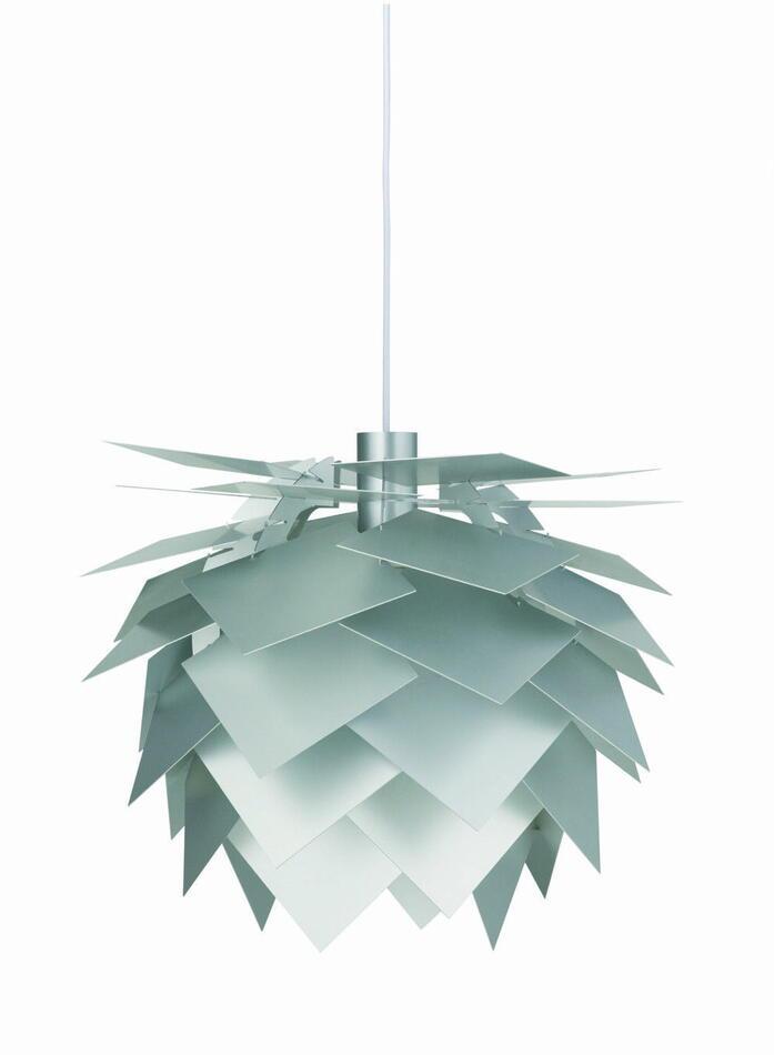 Pineapple Lampe - Pendel Alu
