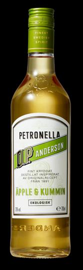 Image of   O.P. Anderson Petronella Aquavit Fl 70