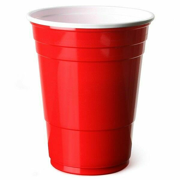 Image of   Red Cups 50 Stk.
