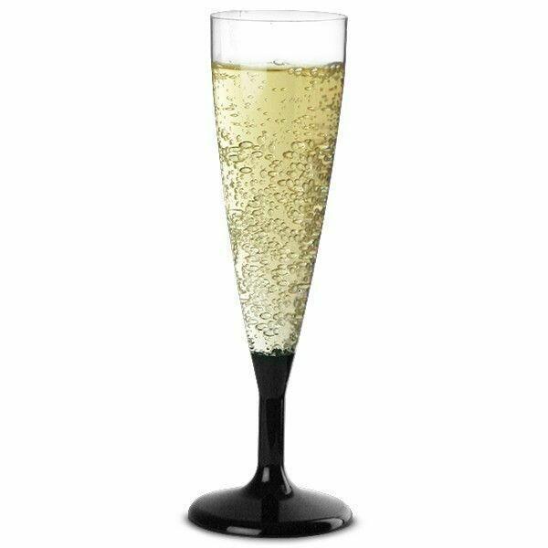 Champagneglas - Plastik 6 Stk.