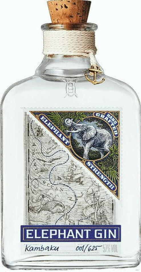 Elephant Strength Gin Fl 50