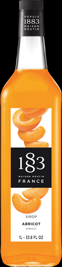 Image of   1883 Syrup Abricot / Abrikos Fl 100