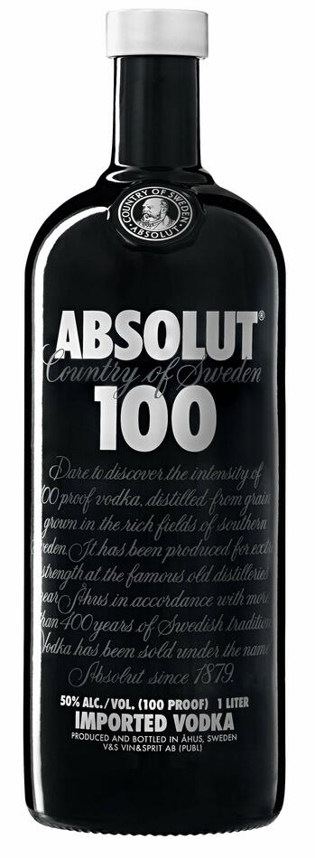 Image of   Absolut Vodka 100 Proof* Fl 100