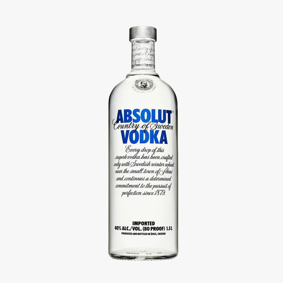 Absolut Vodka (Jeroboam) Fl 450