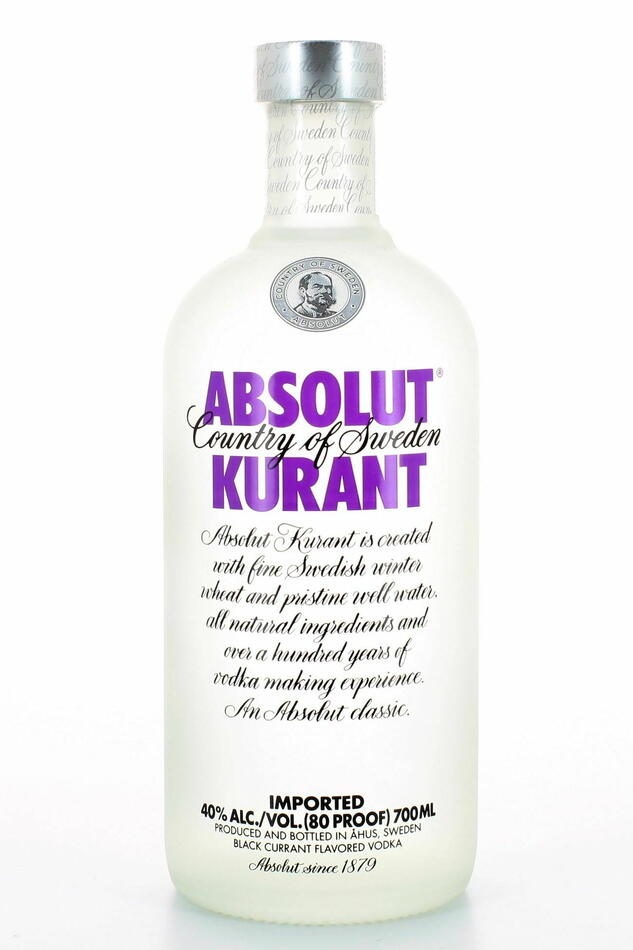 Absolut Vodka Kurant Fl 70