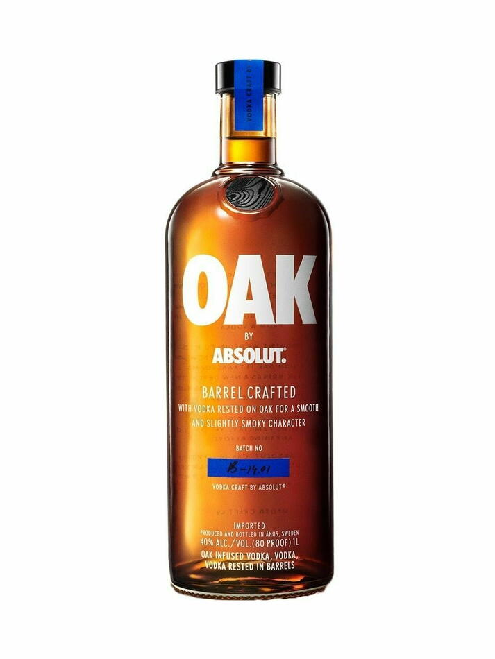Image of   Absolut Vodka Oak Fl 100