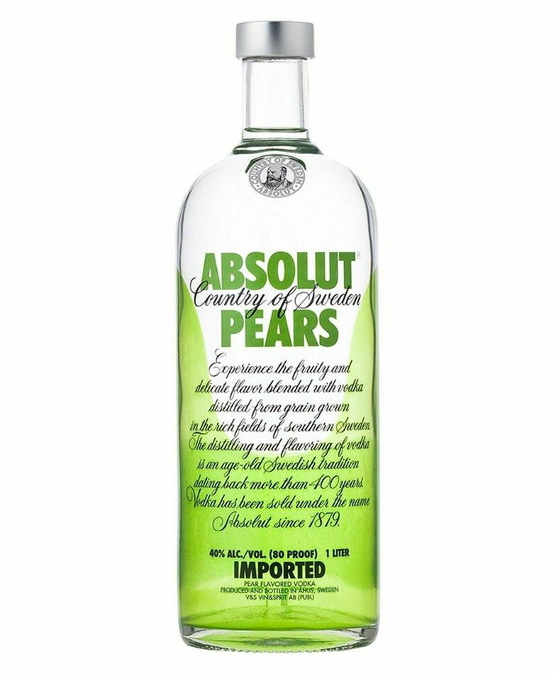 Absolut Vodka Pears Fl 70