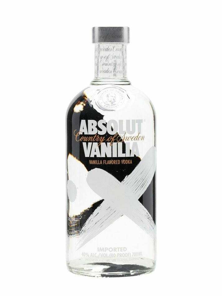Absolut Vodka Vanilia Fl 70
