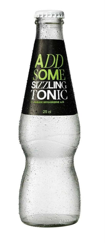 Image of   Add Some Sizzling Tonic 25cl Kasse