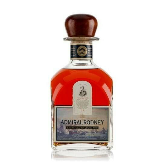 Image of   Admiral Rodney St. Lucia Rum Fl 70