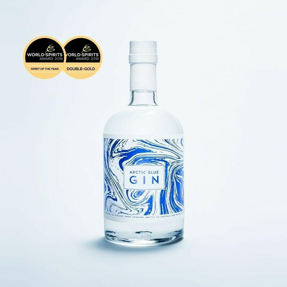 Image of   Arctic Blue Gin Fl 50