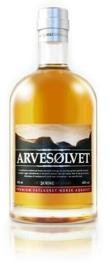Image of   Arvesølvet Aquavit Fl 100