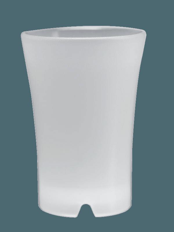 Image of   Shotglas Frosted Hvid