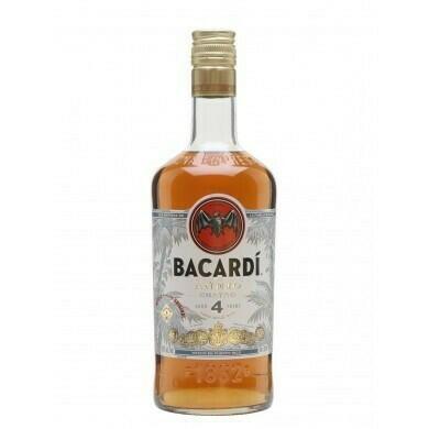 Image of   Bacardi 4 Yo Anejo Cuatro* 1 Ltr