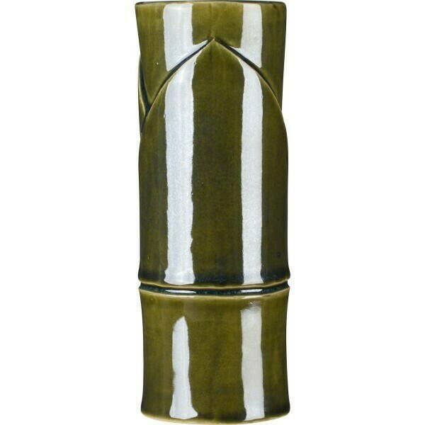 Billede af Tiki glas Bambus (370 ml) oliven grøn
