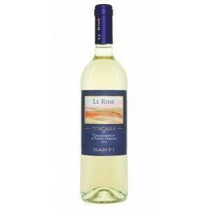 "Image of   Banfi ""Le Rime"" Chardonnay & Pinot Grigio 0,7 liter5 Ltr"