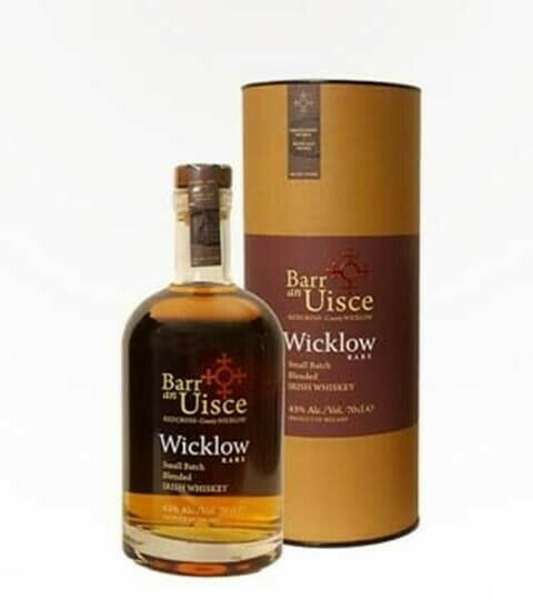 "Image of   Barr An Uisce ""Wicklow Rare"" Blended Irish Whiskey Fl 70"