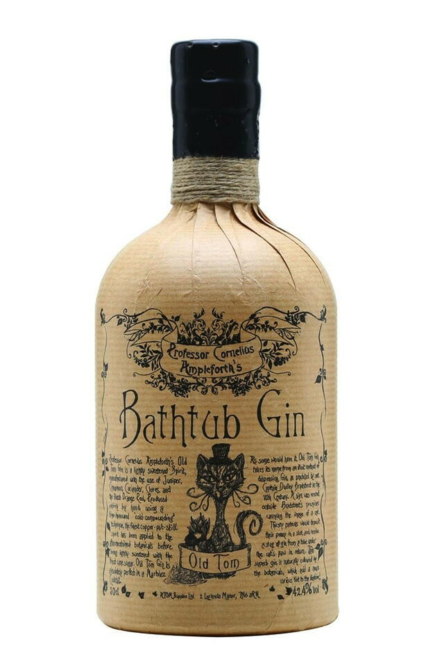 Bathtub Old Tom Gin Fl 50
