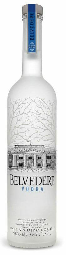 Image of   Belvedere Vodka Pure (Magnum) Fl 175