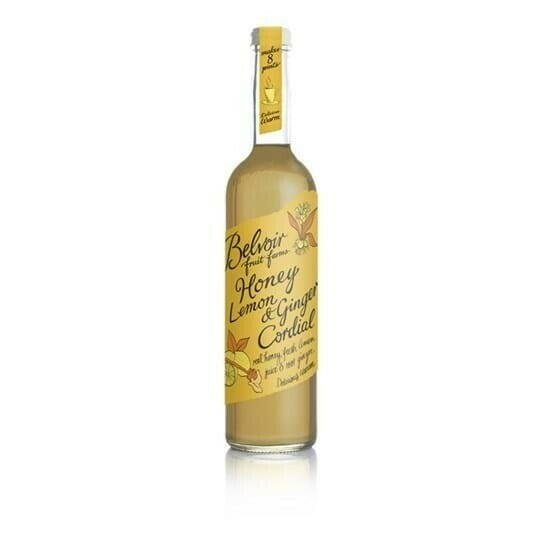 Image of   Belvoir Honey, Lemon & Ginger Cordial Fl 50