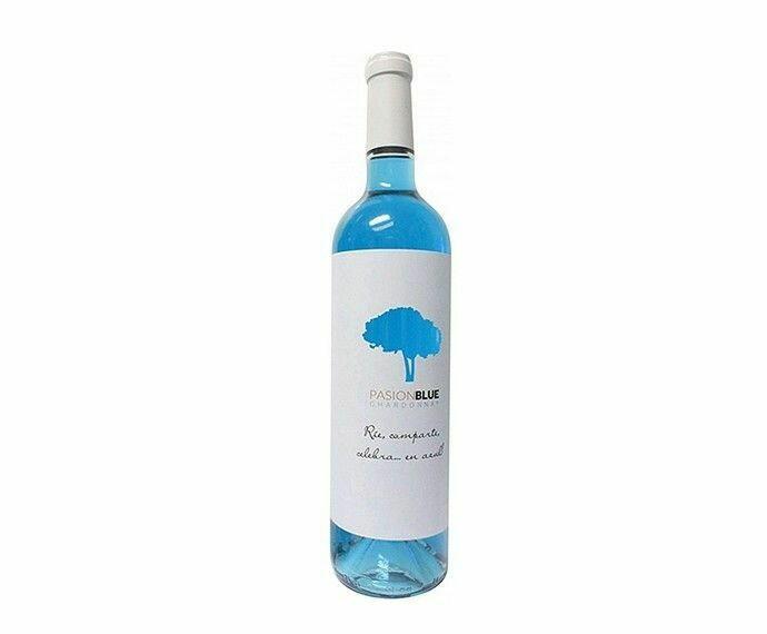 Pasion Blue Wine Chardonnay Fl 75