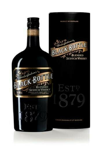 Image of   Black Bottle Blended Scotch Fl 70