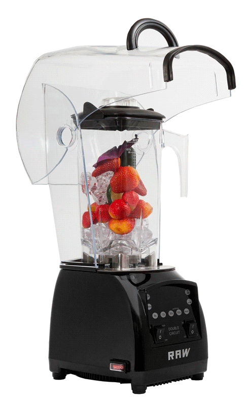 Image of   Blender Pro Q4500 2 Hk 2 L Black