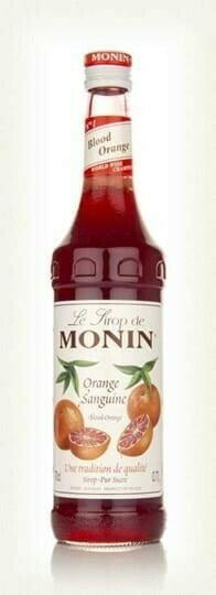Image of   Monin Syrup Blood Orange / Blodappelsin Fl 70