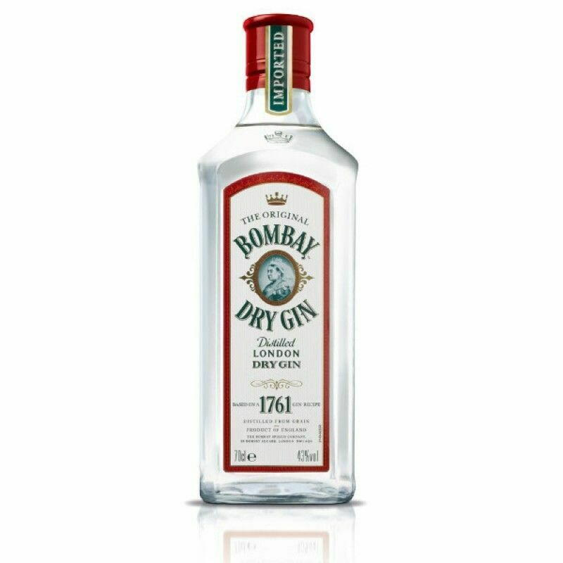 Image of   Bombay Original Dry Gin Fl 70cl