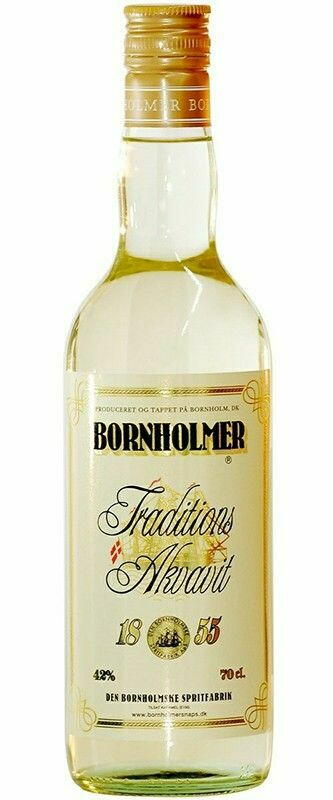 Image of   Bornholmer 1855 Traditions Akvavit Fl 70