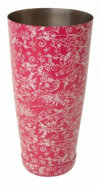 Image of   Boston Shaker Pink Floral Mezclar