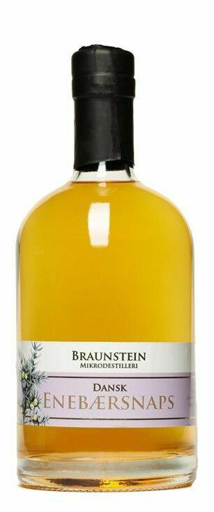 Image of   Braunstein Enebærsnaps Fl 50