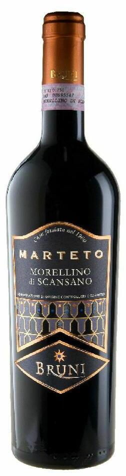 """Bruni """"Marteto"""" Morellino Di Scansano 2013 Fl 75"""
