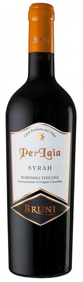 "Bruni ""Perlaia"" Syrah Maremma Toscana 2013 Fl 75"